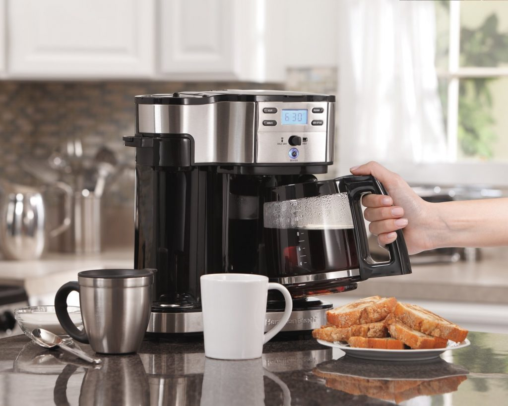 buying a coffee maker