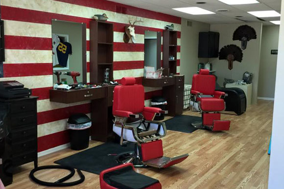types of barber stations